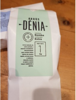 Arroz Bomba Denia (paellas)