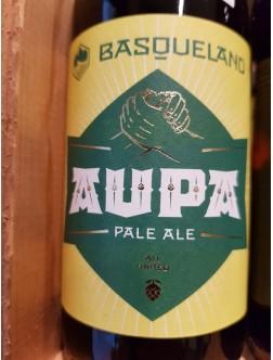 Cerveza Basqueland Aupa Rubia