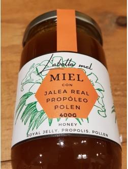 Miel con propoleo, polen y...
