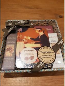 Cesta Regalo Chocolate gourmet