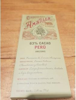 Chocolate 83% del Amazonas