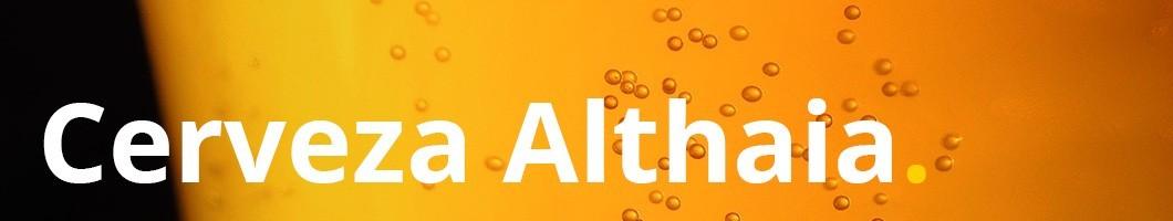 Disfruta de tu cerveza artesanal favorita Althaia